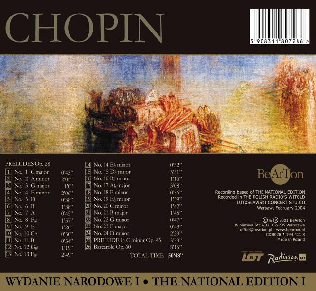 Chopin - Preludia, Barkarola
