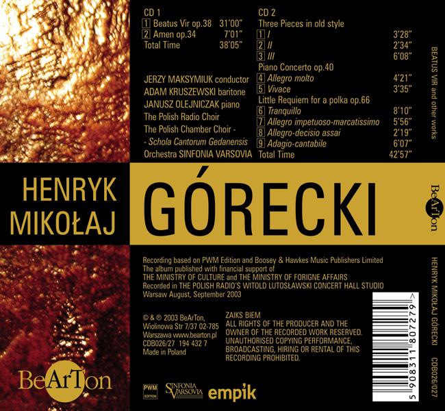 Henryk Mikołaj Górecki