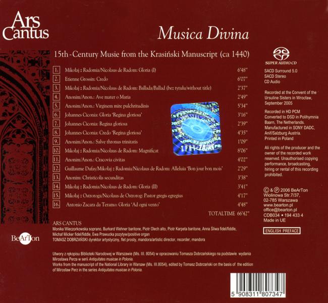 Musica Divina CDB034