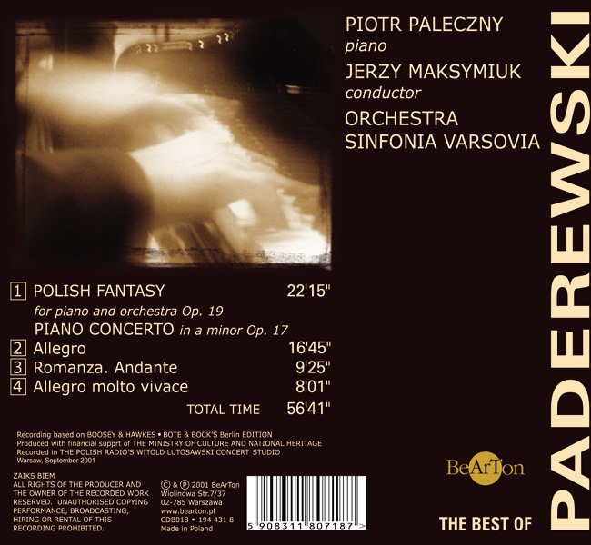 The best of Paderewski